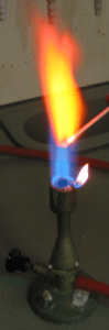 38-Sr-flame test